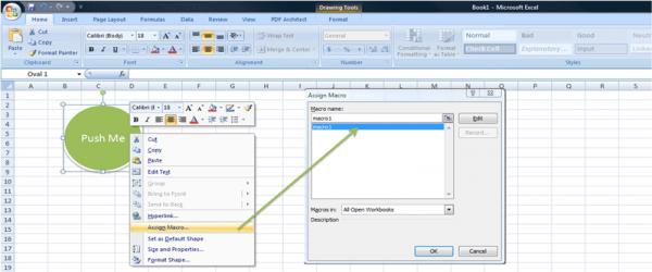 Ako spustit Excel makro